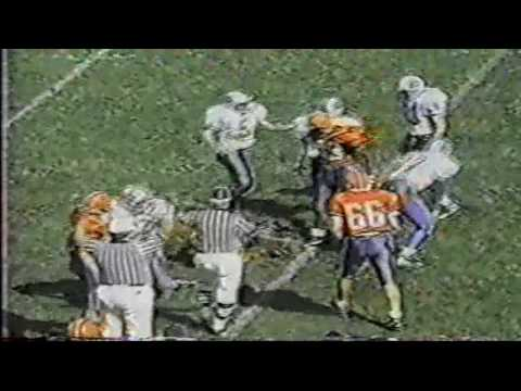 New Trier football v Evanston 09 25 95