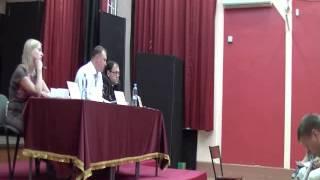 Встреча главы управы Нижегородского района Целищева В В   с жителями района 2