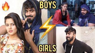 Boys vs Girls || Half Engineer