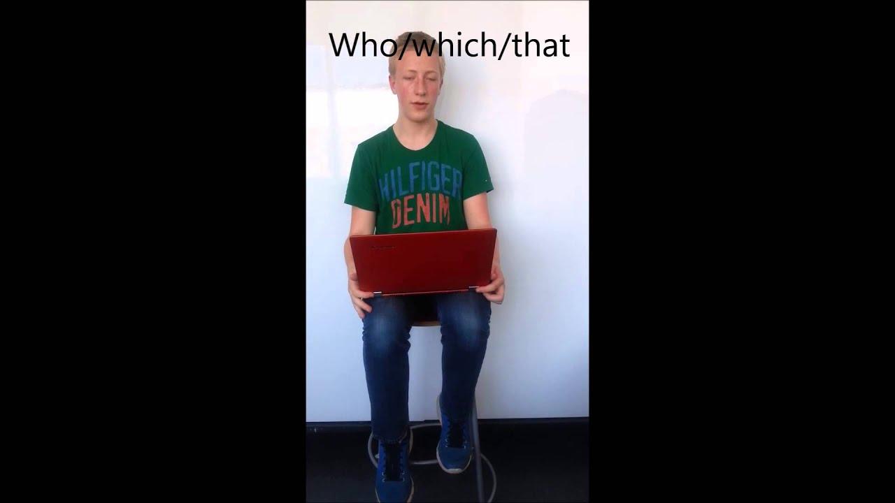 Engelsk grammatik video