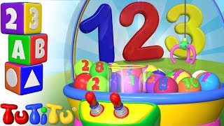 TuTiTu Preschool | Learning Numbers for Babies and Toddlers | Crane Game
