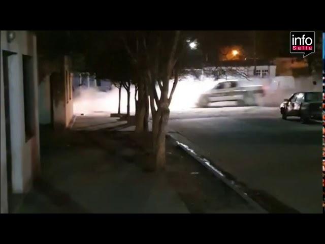 #LoUltimo: entre disparos la policia de Metan persigue a una Amarok