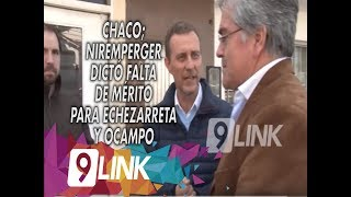 C9 - Chaco; Niremperger dictó falta de mérito para Echezarreta y Ocampo