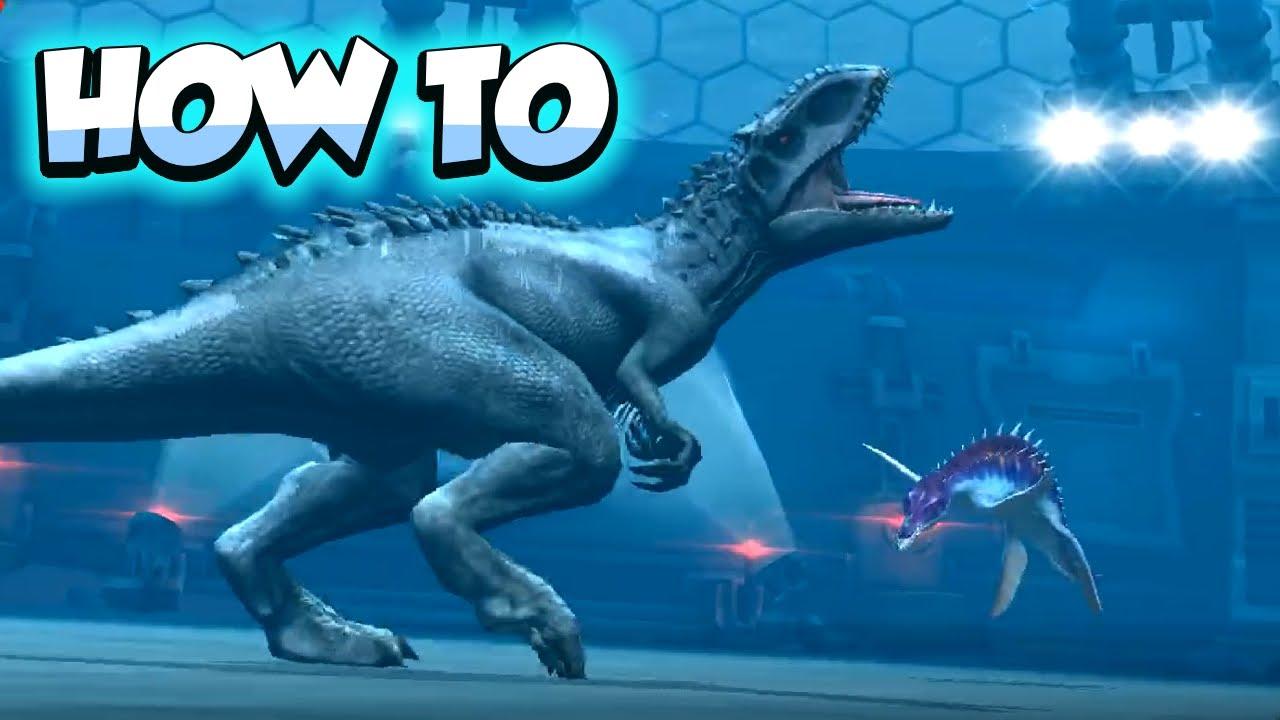 Jurassic world the gameHow to do the underwater glitch