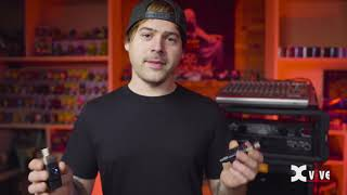 xvive u3 wireless microphone system!