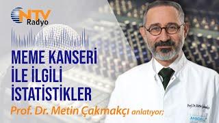 Meme kanseri ile ilgili istatistikler   NTV Radyo Akşam Haberleri   Prof. Dr. Metin Çakmakçı
