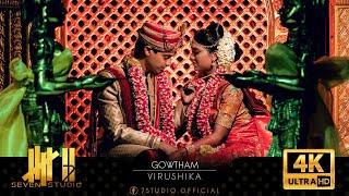 Nee Uravaaga   Gowtham weds Virushika   7 studio   4K