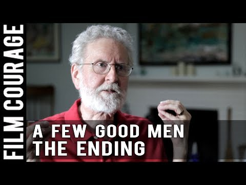 Screenwriting Structure - A FEW GOOD MEN -  Act III - The Ending by Michael Hauge