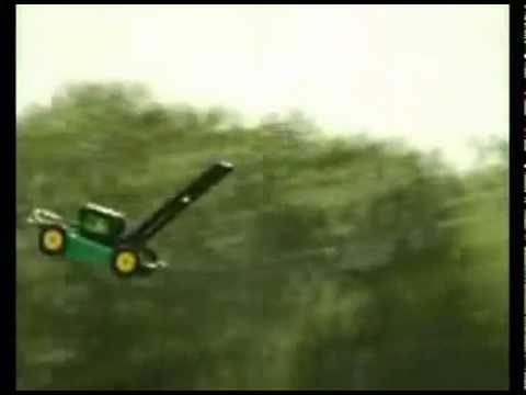 Lawnmower Dreams of the Moon