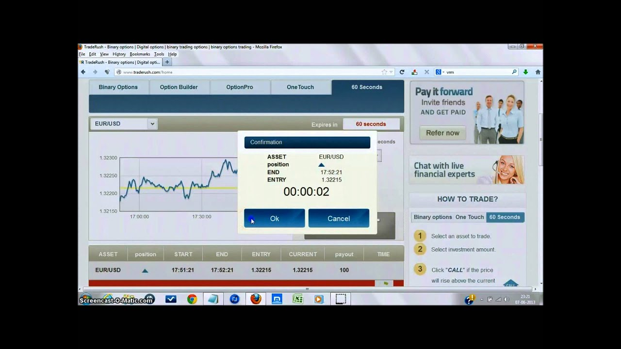 binary options trading strategy youtube converter