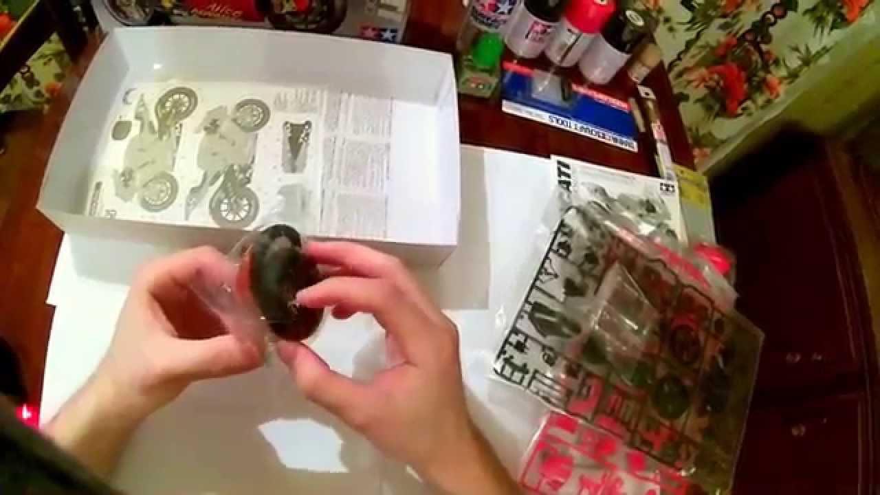 ducati desmosedici tamiya 1/12 model kit unboxing and review - youtube