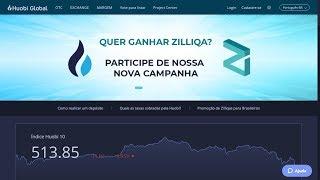 """MOEDAS GRÁTIS - Huobi distribui 300 mil Zilliqas em nova PROMOÇÃO (R$650)!!! """"ÚLTIMO DIA"""""""