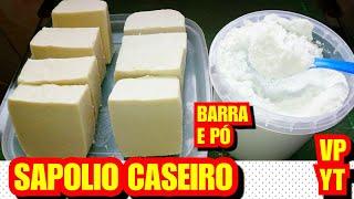 Inédito Sapólio em Barra E Pó Caseiro Super Abrasivo