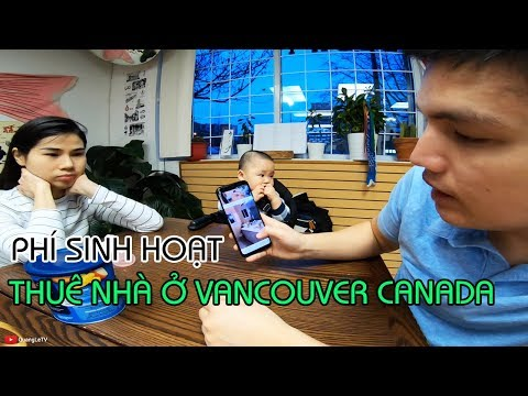 Phí Sinh Hoạt, THUÊ NHÀ ở Vancouver Canada | ĂN SUSHI ở Vancouver | Food n Travel | Quang Lê TV #195
