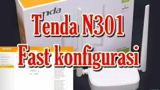 Fast Config Tenda N301 Router sebagai WISP clien/ Repeater