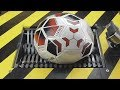 EPIC WHAT HAPPENS IF YOU DROP SOCCER FOOTBALL BALL INTO THE SHREDDING MACHINE?