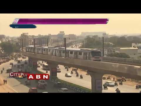 4 Months For Hyderabad Metro Rail | Special Focus | ABN Telugu
