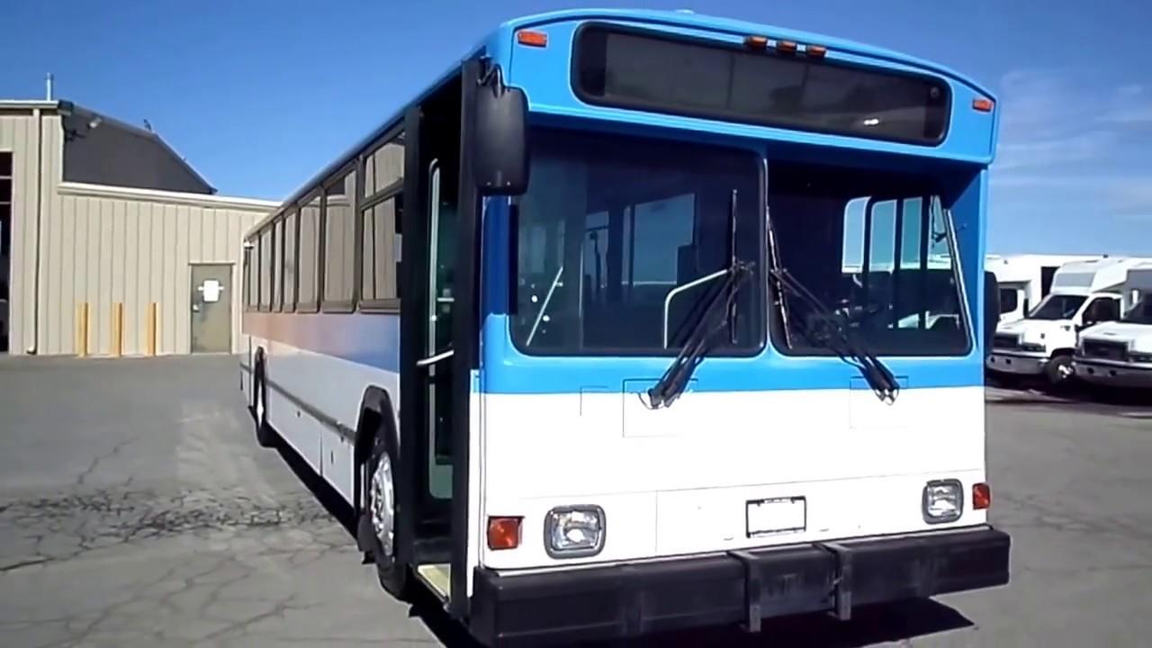 Used Bus For Sale - 2002 Gillig Phantom Transit Bus T10874