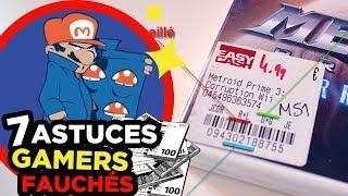 7 ASTUCES pour GAMERS FAUCHÉS