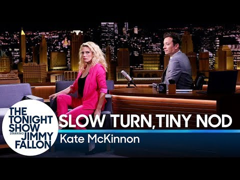 Slow Turn, Tiny Nod with Kate McKinnon