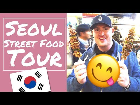 Seoul South Korea Street Food Tour! Myeong-dong Food Guide - VLOG #7