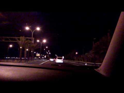 Samsung i8910 (Omnia HD) Night Driving in HD