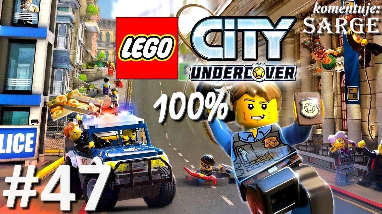 Zagrajmy w LEGO City Tajny Agent (100%) odc. 47 – Bank LEGO City 100% | LEGO City Undercover PL