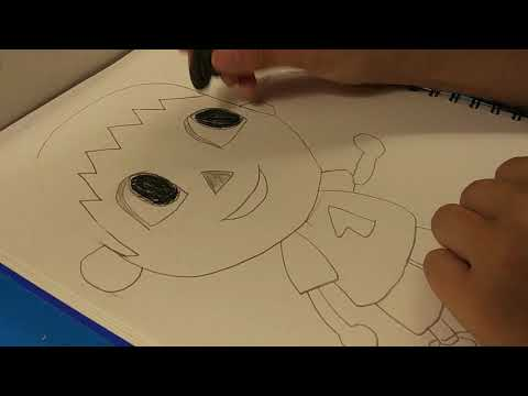 How To Draw Villager From Animal Crossing