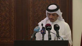 قطر ترحب بالجهود الفرنسية لحل أزمة الخليج