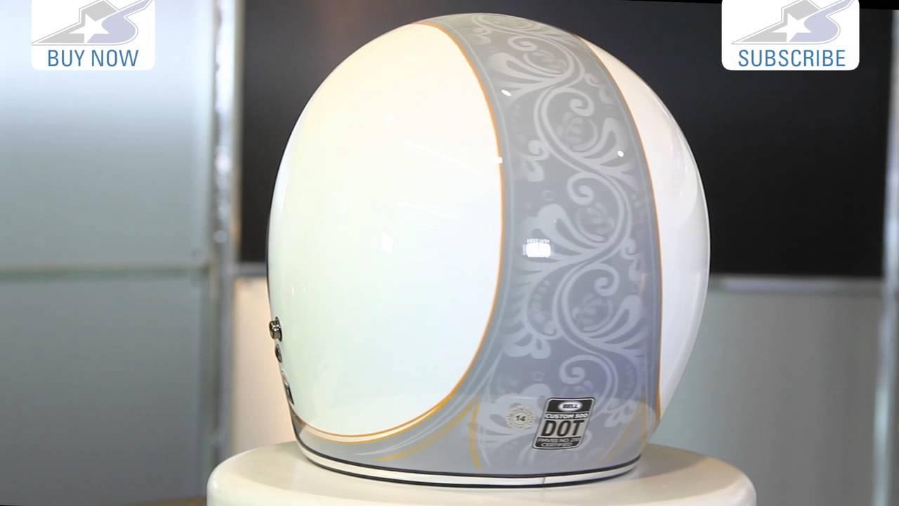 376e130b Bell Custom 500 Headcase Cue Ball Helmet | Motorcycle Superstore ...