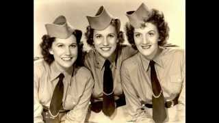 Watch Andrews Sisters Boogie Woogie Bugle Boy video