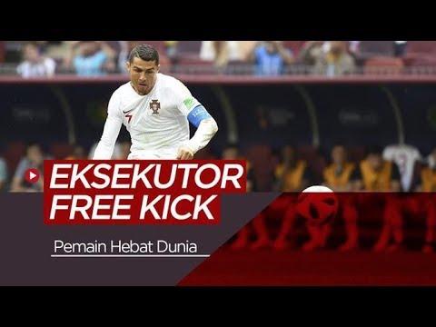 12 Eksekutor Free Kick Mematikan Sepanjang Sejarah