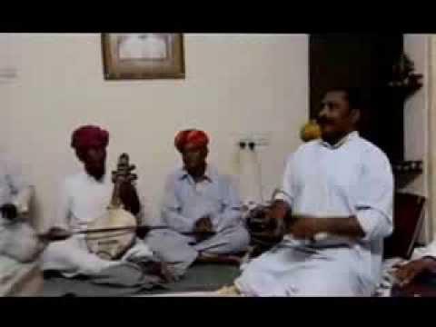 Samandar Khan Manganiyar - Rajasthani Folk- Kanudo Ni Jane Mari Preet