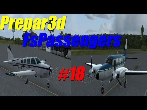 FsPassengers 2016 | Prepar3D V3 | We bought a new plane! | EP 18 FsPassengers career