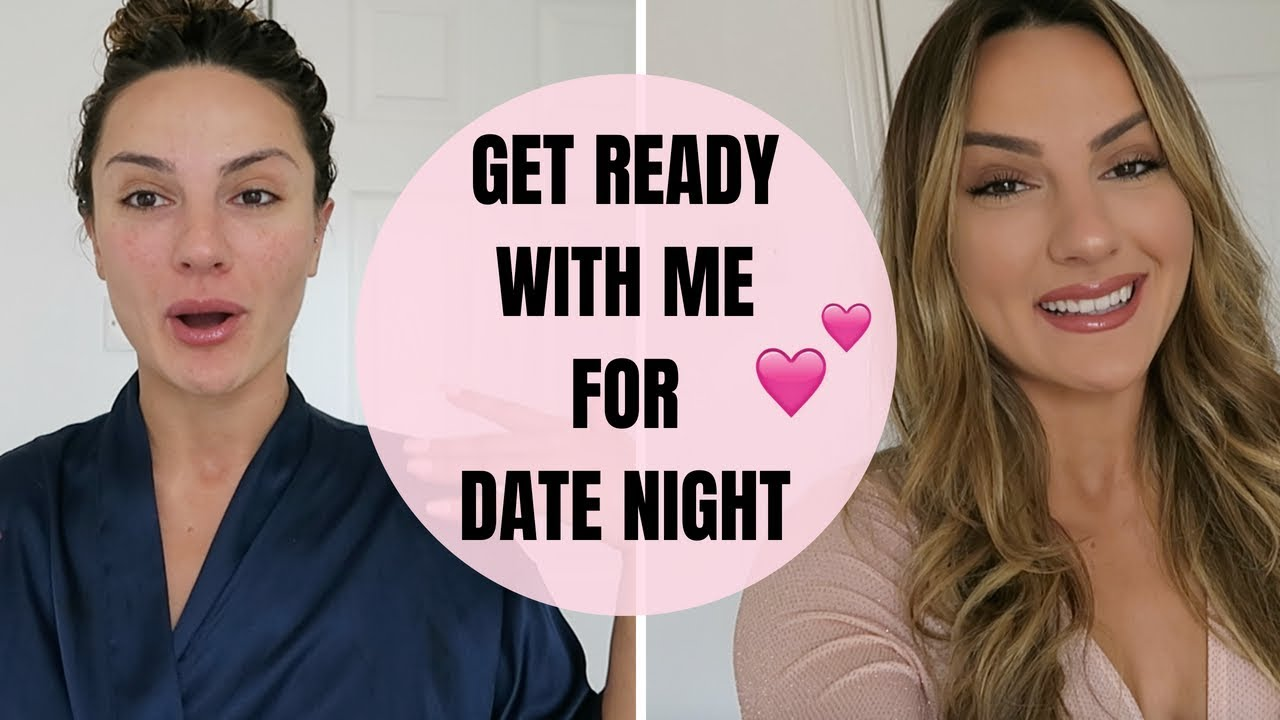 GET READY WITH ME | Make up, Hair, Outfit, Cheeky Date Night!