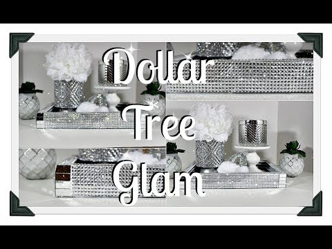 💎❄️Dollar Tree Glam Tray DIY❄️💎