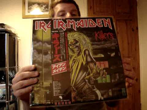 IRON MAIDEN RARE VINYL RECORD COLLECTION!
