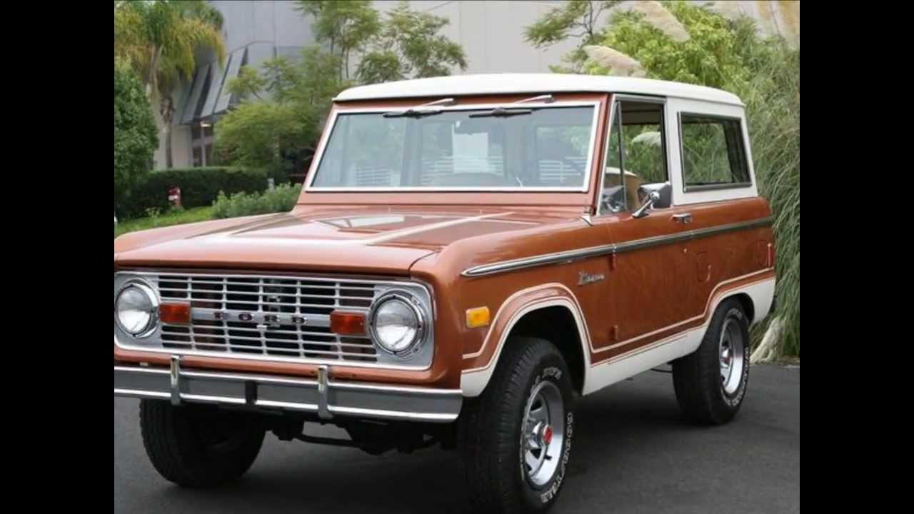 Classic Ford Bronco >> 1977 Ford Bronco Ranger   Restored By Classic Showcase   SOLD - YouTube