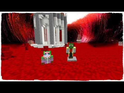 👉 MINECRAFT - BASE VS TSUNAMI DE SANGRE - ¡BLOOD TSUNAMI CHALLENGE!
