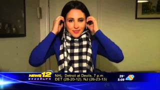 Brooklyn inventors create the 'scough,' a germ-fighting scarf