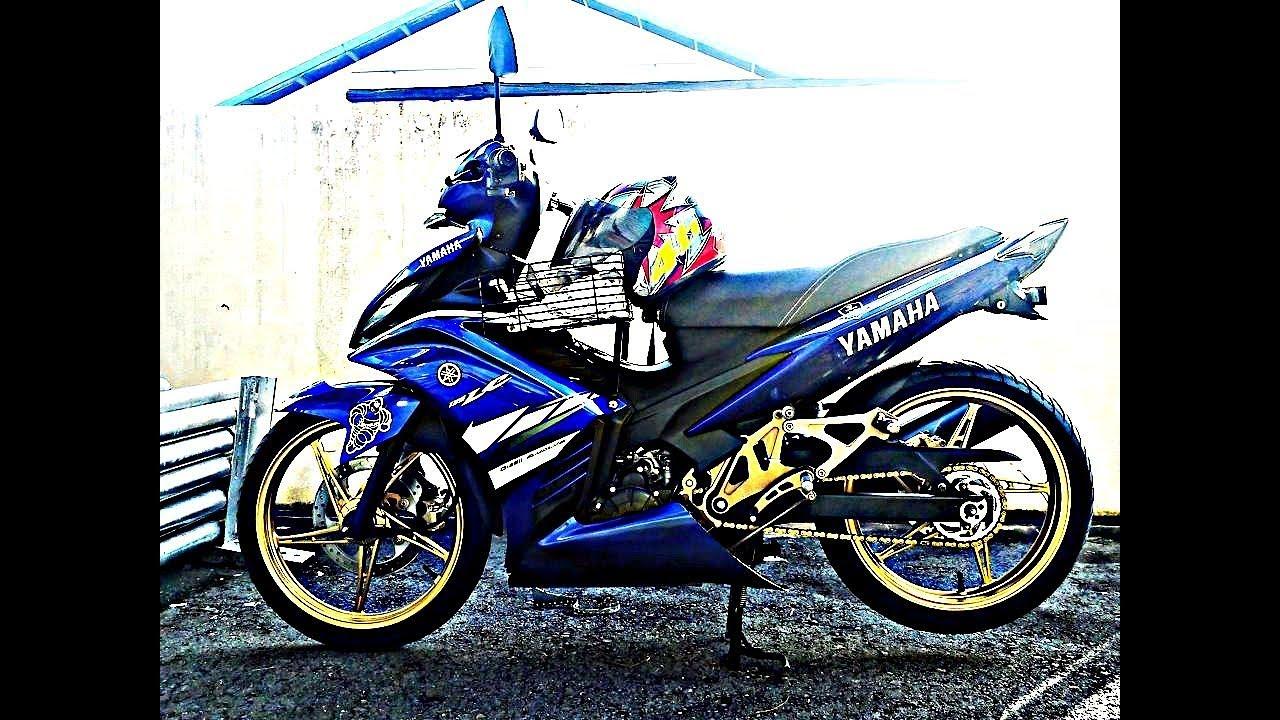Download Kumpulan 80 Modifikasi Yamaha Lc Terbaik Kempoul Motor