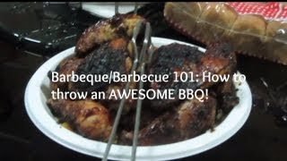 Barbeque/Barbeque 101: HOW TO THROW AN AWESOME BBQ! Thumbnail