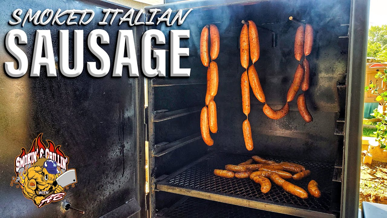 (12) Smoked Italian Sausage | Homemade Sausages - YouTube