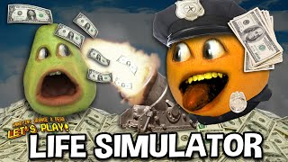 LIFE SIMULATOR!!!   (Annoying Orange & Pear Play!) #sponsored