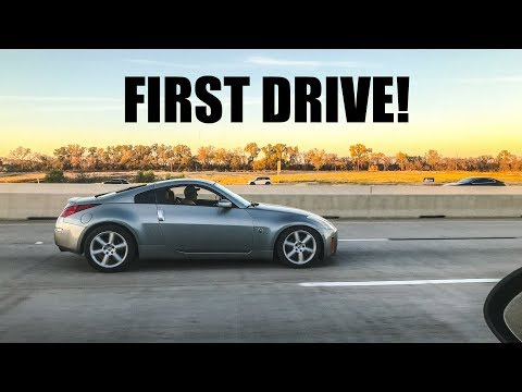 FINALLY DRIVING THE DRIFT Z!