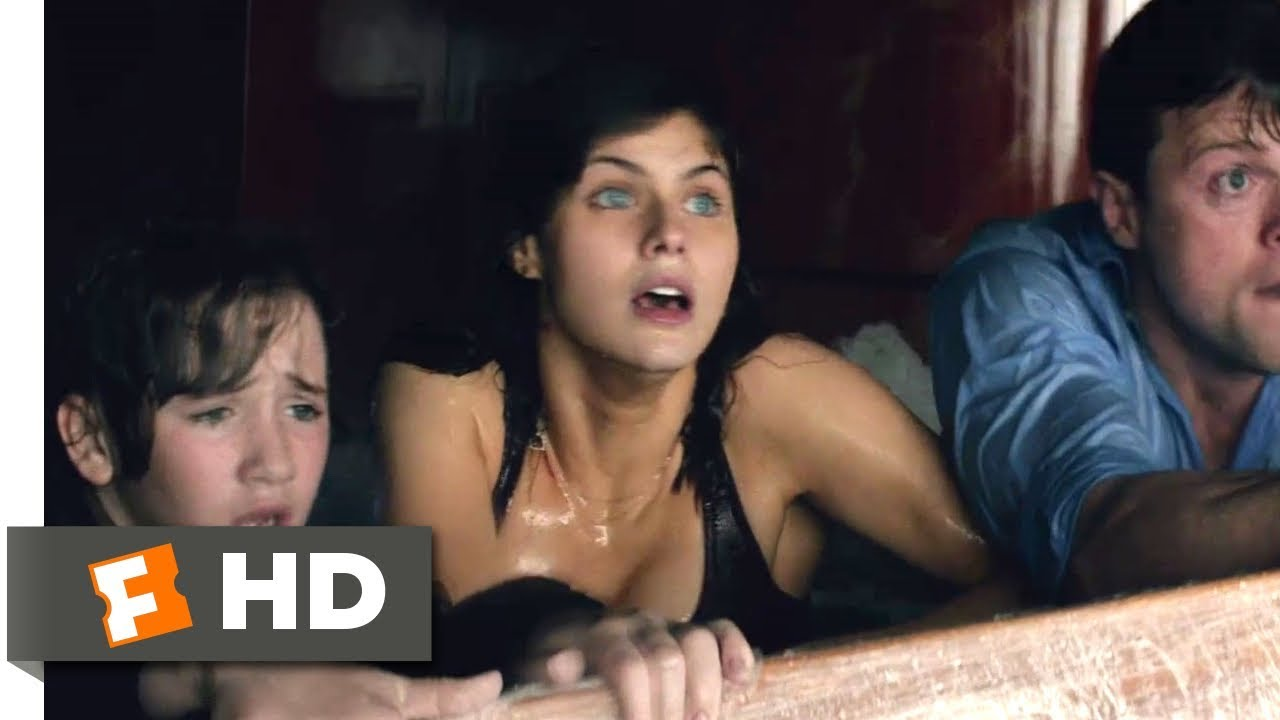 Anaconda Movie Hot Scene san andreas (2015) - not high enough scene (9/10) | movieclips