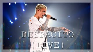 Repeat youtube video Luis Fonsi, Daddy Yankee - Despacito ft. Justin Bieber (Purpose Tour Live)