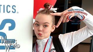 Whitney Bjerken Qualifies for JO Nationals | Weekly VLOG