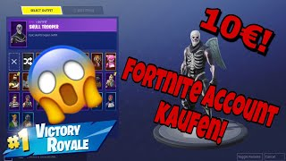 I buy a RANDOM Fortnite ACCOUNT!! (10Euro)