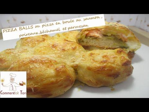 pizza-balls-ou-pizza-en-boule-au-saumon,-poireaux,béchamel-et-parmesan-par-commentfait-ton